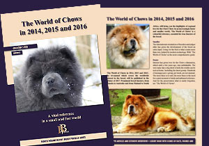 The World of Chows in 2014, 2015, 2016